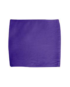 Purple Square Super Fan Rally Towel