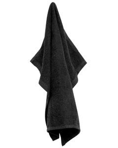 Black Large Rally Towel