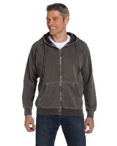 Pepper 10 oz. Garment-Dyed Full-Zip Hood