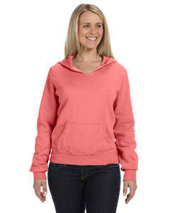 Watermelon Women's 10 oz. Garment-Dyed Front-Slit Pullover Hood