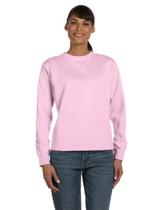 Blossom Women's 10 oz. Garment-Dyed Wide-Band Fleece Crew