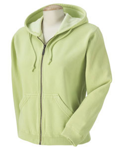 Celedon Women's 10 oz. Garment-Dyed Full-Zip Hood