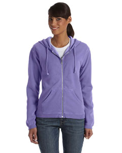 Violet Women's 10 oz. Garment-Dyed Full-Zip Hood