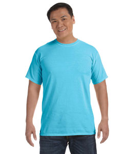Lagoon Blue 6.1 oz. Ringspun Garment-Dyed T-Shirt