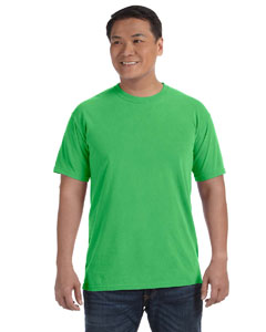 Neon Green 6.1 oz. Ringspun Garment-Dyed T-Shirt