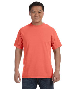 Bright Salmon 6.1 oz. Ringspun Garment-Dyed T-Shirt