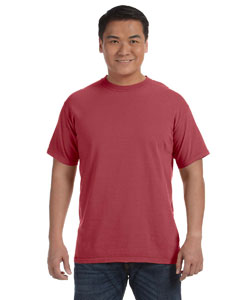 Brick 6.1 oz. Ringspun Garment-Dyed T-Shirt