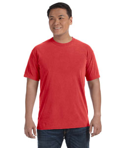 Red 6.1 oz. Ringspun Garment-Dyed T-Shirt