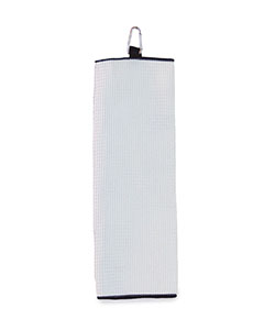 White Fairway Golf Towel