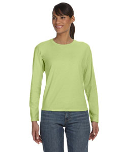Celedon Women's 5.4 oz. Ringspun Garment-Dyed Long-Sleeve T-Shirt