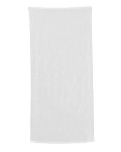 White Carmel Beach Towel