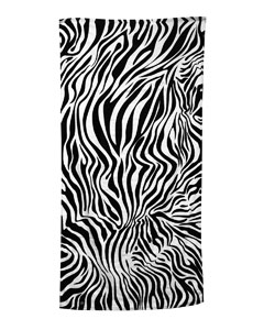 Zebra Carmel Beach Towel