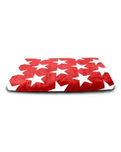 Red Stars Carmel Beach Towel