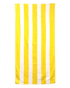 Sunlight Cabana Carmel Beach Towel