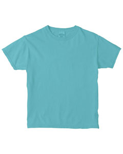Lagoon Blue Women's 5.4 oz. Ringspun Garment-Dyed T-Shirt