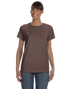 Chocolate Women's 5.4 oz. Ringspun Garment-Dyed T-Shirt