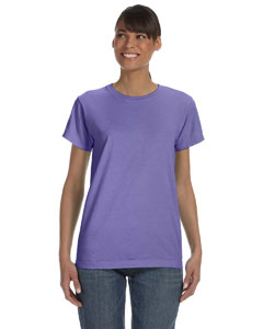 Violet Women's 5.4 oz. Ringspun Garment-Dyed T-Shirt