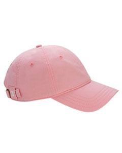 Pink Brushed Cotton 6-Panel Cap