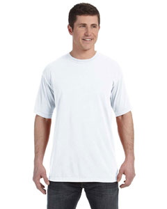 White 4.8 oz. Ringspun Garment-Dyed T-Shirt