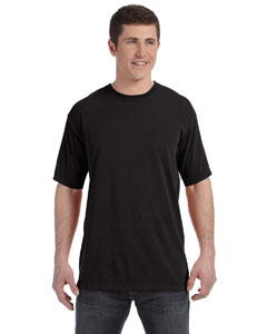 Black 4.8 oz. Ringspun Garment-Dyed T-Shirt