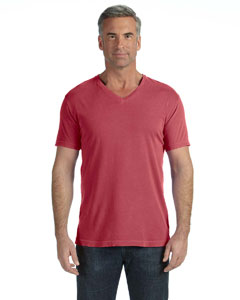 Crimson V-Neck T-Shirt