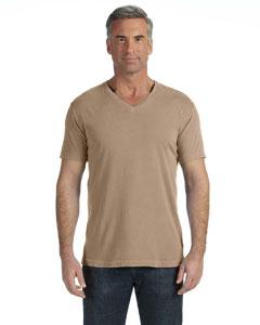 Khaki V-Neck T-Shirt