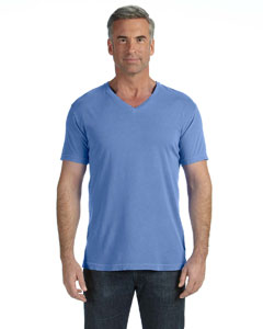 Flo Blue V-Neck T-Shirt