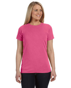 Raspberry Women's 4.8 oz. Ringspun Garment-Dyed T-Shirt