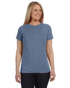 Blue Jean Women's 4.8 oz. Ringspun Garment-Dyed T-Shirt