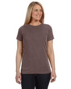 Chocolate Women's 4.8 oz. Ringspun Garment-Dyed T-Shirt