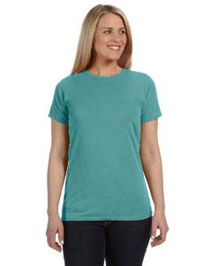 Seafoam Women's 4.8 oz. Ringspun Garment-Dyed T-Shirt