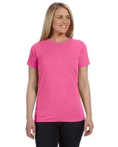 Neon Pink Women's 4.8 oz. Ringspun Garment-Dyed T-Shirt