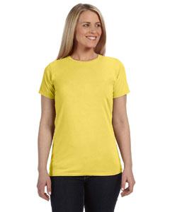 Neon Yellow Women's 4.8 oz. Ringspun Garment-Dyed T-Shirt