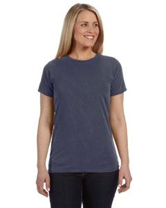Denim Women's 4.8 oz. Ringspun Garment-Dyed T-Shirt
