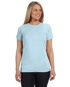 Chambray Women's 4.8 oz. Ringspun Garment-Dyed T-Shirt