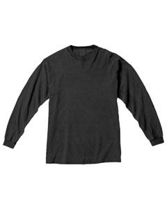 Pepper Ringspun Garment-Dyed Long-Sleeve T-Shirt