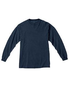 Denim Ringspun Garment-Dyed Long-Sleeve T-Shirt