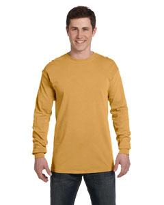 Monarch Ringspun Garment-Dyed Long-Sleeve T-Shirt