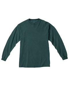 Blue Spruce Ringspun Garment-Dyed Long-Sleeve T-Shirt
