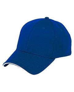 Ath Royal/white 6-Panel Soft Mesh Cap