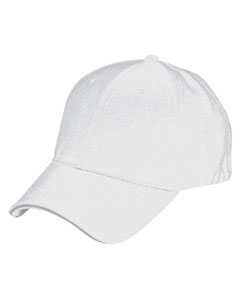 White/steel 6-Panel Soft Mesh Cap