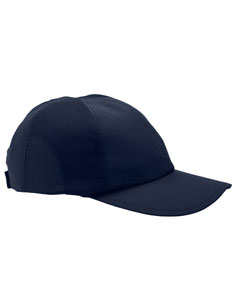 Navy Moisture-Wicking Mesh Cap