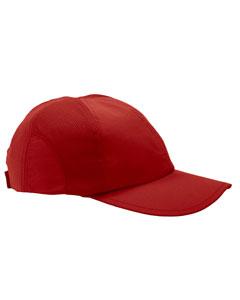 Scarlet Moisture-Wicking Mesh Cap