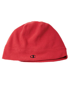 Scarlet/black Performance Fleece Arctic Beanie