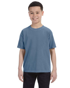 Blue Jean Youth 5.4 oz. Ringspun Garment-Dyed T-Shirt