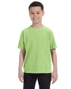 Aloe Youth 5.4 oz. Ringspun Garment-Dyed T-Shirt