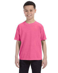 Crunchberry Youth 5.4 oz. Ringspun Garment-Dyed T-Shirt