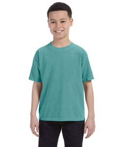 Seafoam Youth 5.4 oz. Ringspun Garment-Dyed T-Shirt