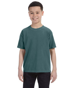 Emerald Youth 5.4 oz. Ringspun Garment-Dyed T-Shirt