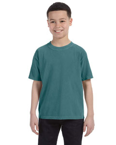 Blue Spruce Youth 5.4 oz. Ringspun Garment-Dyed T-Shirt